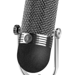 Microphone for recording podcasts