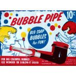A toy bubble pipe