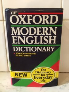 The Oxford Modern English Dictionary