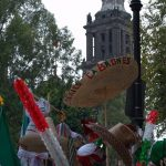 Sombreros and flags