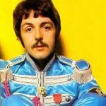 Musician Paul McCartney from the Sgt Peppers Era