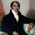 A portrait of the Indian entrepreneur Sake Dean Mahomed