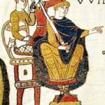 William the Conqueror, as shown in the Bayeux Tapestry