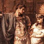 Mark Antony with Cleopatra