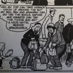 A cartoon of the Broons family