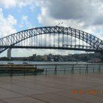 The Sydney Harbour Bridge, built by the same company as the Tyne Bridge