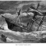 The wreck of the SS Forfarshire
