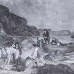 Smugglers on the coast