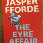 The front cover of The Eyre Affair by Jasper Fforde