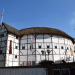The Globe Theatre, pictured on a sunny day
