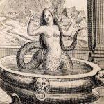 An illustration of the mermaid Fair Melusine