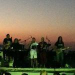 Live music on the beach