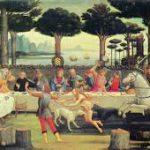 An outdoor Tudor Banquet